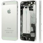 Kryt Apple iPhone 5S Zadní stříbrný