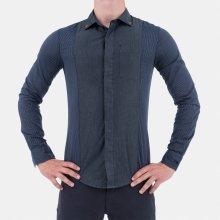 Armani Jeans Denim Stylová pánská Košile 8b73724fd9