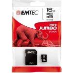 EMTEC micro SDHC 60x 16GB class 4