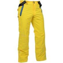Loap Curro žluté pánské lyžařské kalhoty