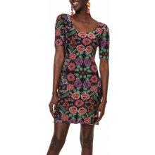 Desigual barevné šaty Vest Garden 457781baa2