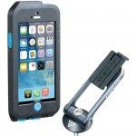 Pouzdro TOPEAK Weatherproof RideCase iPhone 5 + SE černé/modré