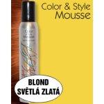 Omeisan Color & Style Mousse tužidlo (blond světle zlaté) 200 ml