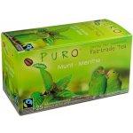 PURO Miko zelený čaj s mátou porcovaný 25 x 2 g
