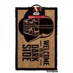CurePink rohožka Star Wars: Welcome to the Dark Side (80 x 50 cm) [GP85033]