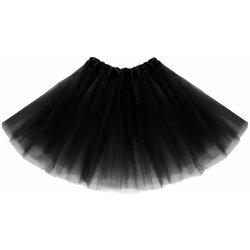 Tylová tutu sukně černá 40 cm karnevalový kostým - Nejlepší Ceny.cz 5e11fc8d43