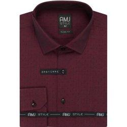 AMJ Style Slim pánská košile dlouhý rukáv od 711 Kč - Heureka.cz a2d28277bf