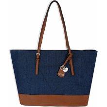 Guess velká kabelka modrá