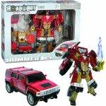 Mac Hummer Robot Toys H3 1:32