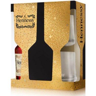 Hennessy V.S v dárkové krabičce se 2 skleničkami 0,7 l