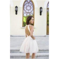 Dámské šaty Eva   Lola koktejlové šaty Erica bílá a05df912dbb