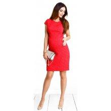01ec668b337 Happymum těhotenské šaty Red hot dress d929 červená