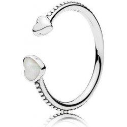 Pandora Otevřený srdíčkový prsten 191045EN23 od 1 190 Kč - Heureka.cz 6b212258026