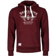 Brakeburn pánská mikina vínová