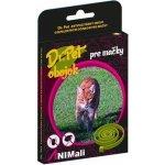 Dr. Pet antiparazitární obojek pro kočky - červený 13 g / 43 cm