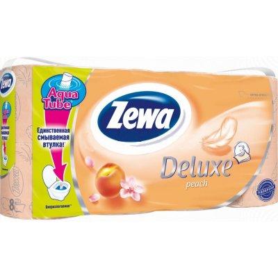 Zewa Deluxe Cashmere Peach 3-vrstvý 8 ks
