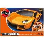 Airfix Quick Bulid J6007 Lamborghini Aventador LP 700-4 Žluté