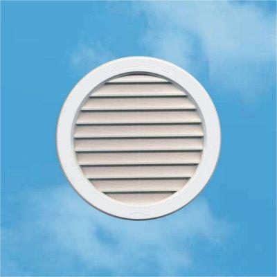 Edil Plast, Refax větrací mřížka kruhová uzavíratelná VM 120 plast T12D - bílá