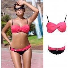 V&V Olivette dvoudílné plavky růžová