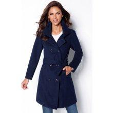 Dámský kabát světle modrá