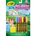 Crayola omalovánky pro opakované použití Disney Princezny