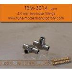 T2M Hose Tee Fittings 4.0 mm