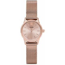 Cluse La Vedette Mesh Full Rose Gold