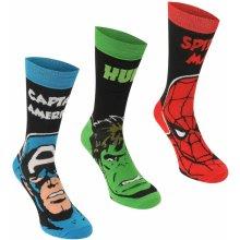 Marvel 3 Pack Crew Socks Child dětské ponožky 892c5514fc