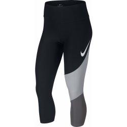 b1162b18a Džíny, kalhoty a rifle Nike W NK PWR CROP HBR FA TEAM W černé 933789