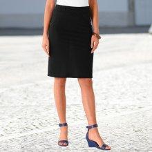 Blancheporte dámská rovná sukně černá