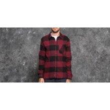 Cheap Monday Give Shirt Darkest Red/ Black
