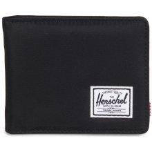 HERSCHEL Malá lesklá peněženka Roy černá