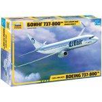 ZVEZDA Model Kit letadlo 7019 Boeing 737 800 1:144