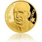 Česká mincovna Zlatý dukát Českoslovenští prezidenti Gustáv Husák 3,49 g