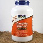 Now Foods Candida Support 180 kapslí
