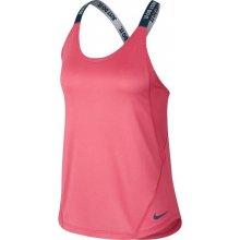 Nike DRY TANK ELASTIKA korálová eec70294dda