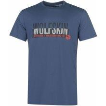 852ce63997e0 Jack Wolfskin Slogan T Shirt Mens Ocean Wave