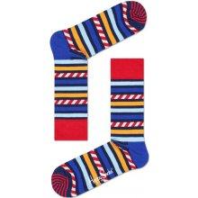 Happy Socks dámské Barevné pruhované ponožky vzor Stripes and Stripes 85238b630b