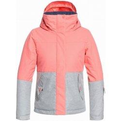 Dětská bunda a kabát Roxy JETTY GIRL BLOCK SHELL PINK 10 M ad369be28e