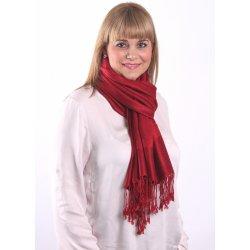 Silk Worm Velký kašmírový šátek sytě červený alternativy - Heureka.cz e2d0bfa908