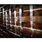 Nexos Trading GmbH & Co. KG Vánoční osvětlení - rampouchy - studená bílá, 8 světelných funkcí D01135