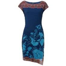 Desigual dámské šaty Vest Reset tmavě modrá 9c4702962b2