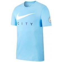 Nike Manchester City Swoosh T Shirt Mens Field Blue 23afa9166f