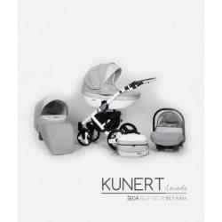Kunert Lavado 2017 + autosedačka bílý rám Světle-šedá