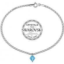 Silvego stříbrný náramek se Swarovski Crystal VSW066B
