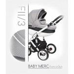 Baby Merc Faster 2 Style 2017 FII/03 + autosedačka Šedá