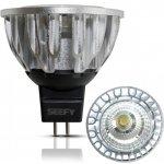 Seefy LED Bodovka GU5,3/MR16 6W studená bílá