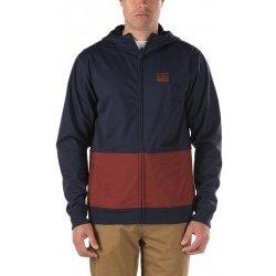 8c67ab65ef Pánská bunda a kabát Vans Rimini Mountain Edition black-iris-russet-brown  bunda