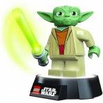LEGO LIGHTS LED STAR WARS baterka a noční lampa YODA