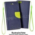 Pouzdro Fancy Case Sony Xperia X F5121 F5122 Modré